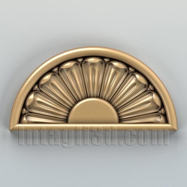 Розетка круглая 003