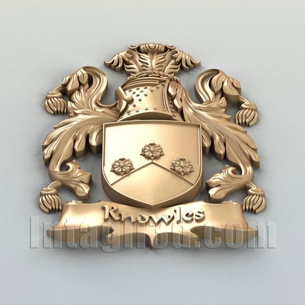 Герб декоративный 003