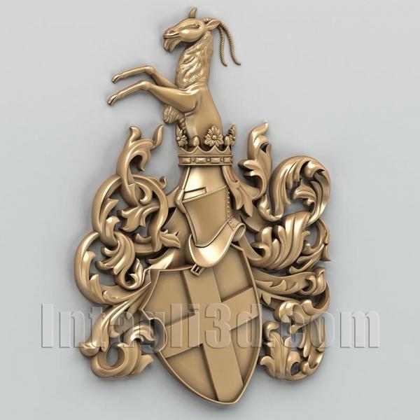 Герб декоративный 001