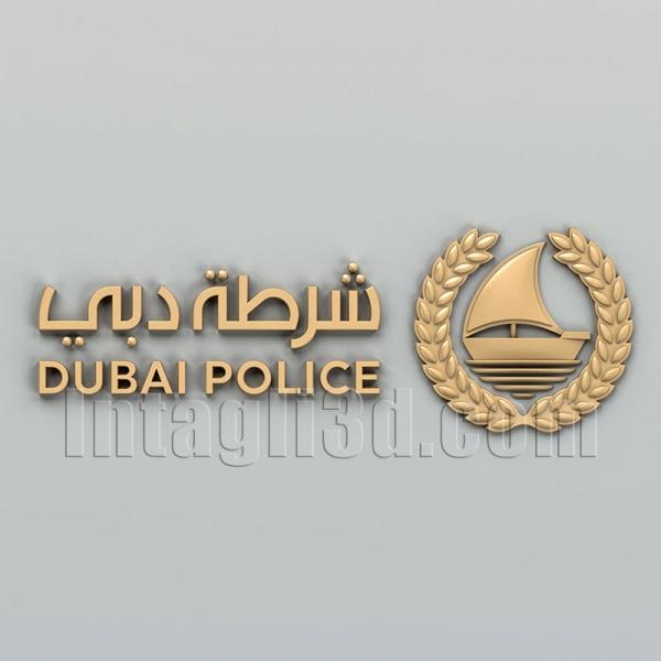 Эмблема полиции Дубаи
